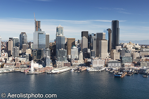 Stock aerial photographs of the Pacific Northwest from Aerolist Photographers vertical and oblique aerial photography specialists since 1954